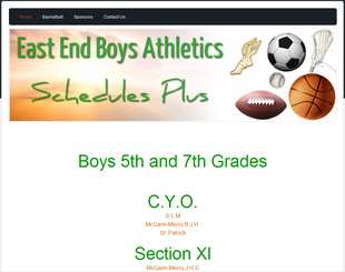 East End Boys Athletics